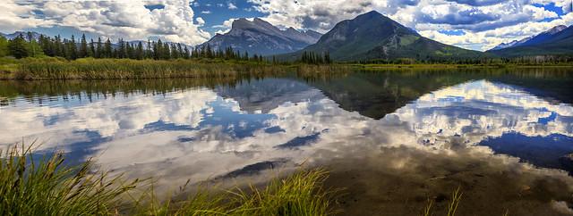 Vermillion Lake - Banff National Park - Panorama - 7-23-18  01
