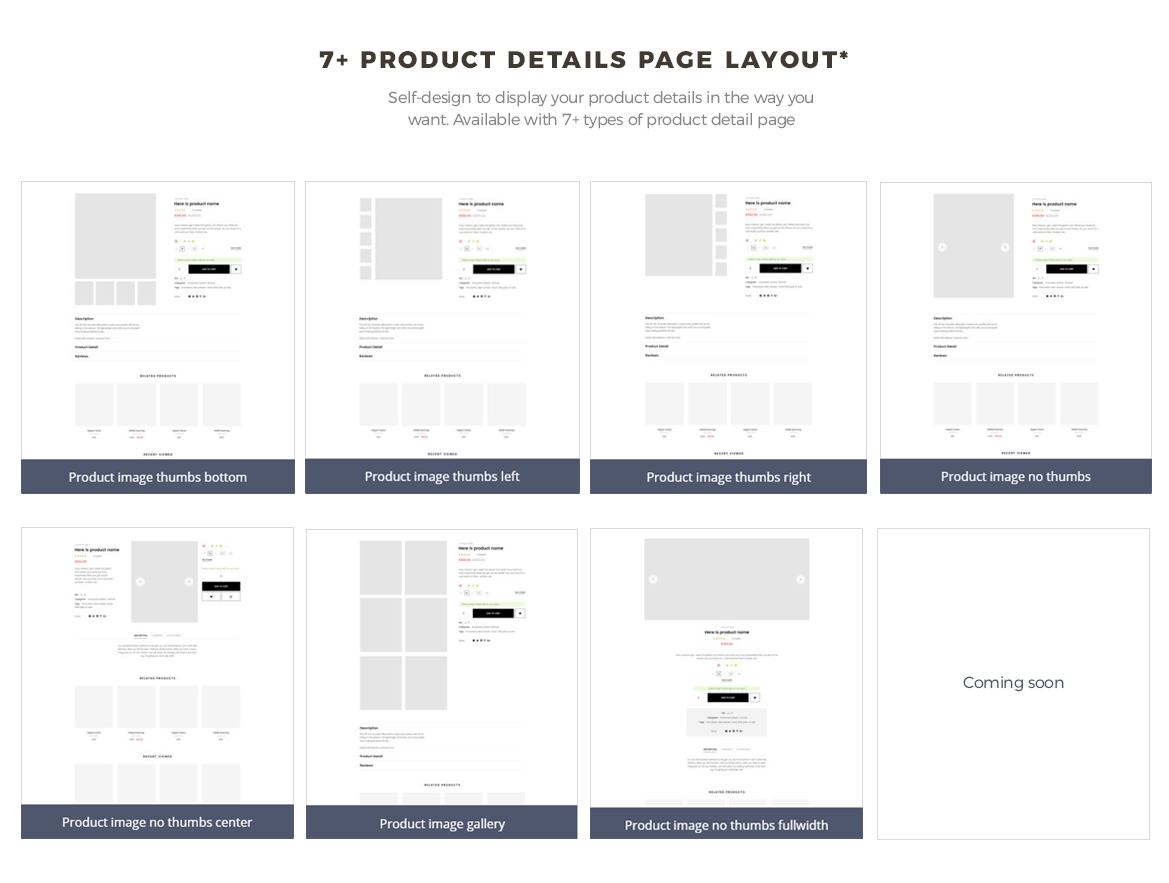 7+ product details page layout - Leo Zurich - Gifts and Souvenirs shop