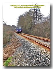 Réseau Breton : Treffrin, TER pour Guingamp en ligne, près de Moulin Gwern.