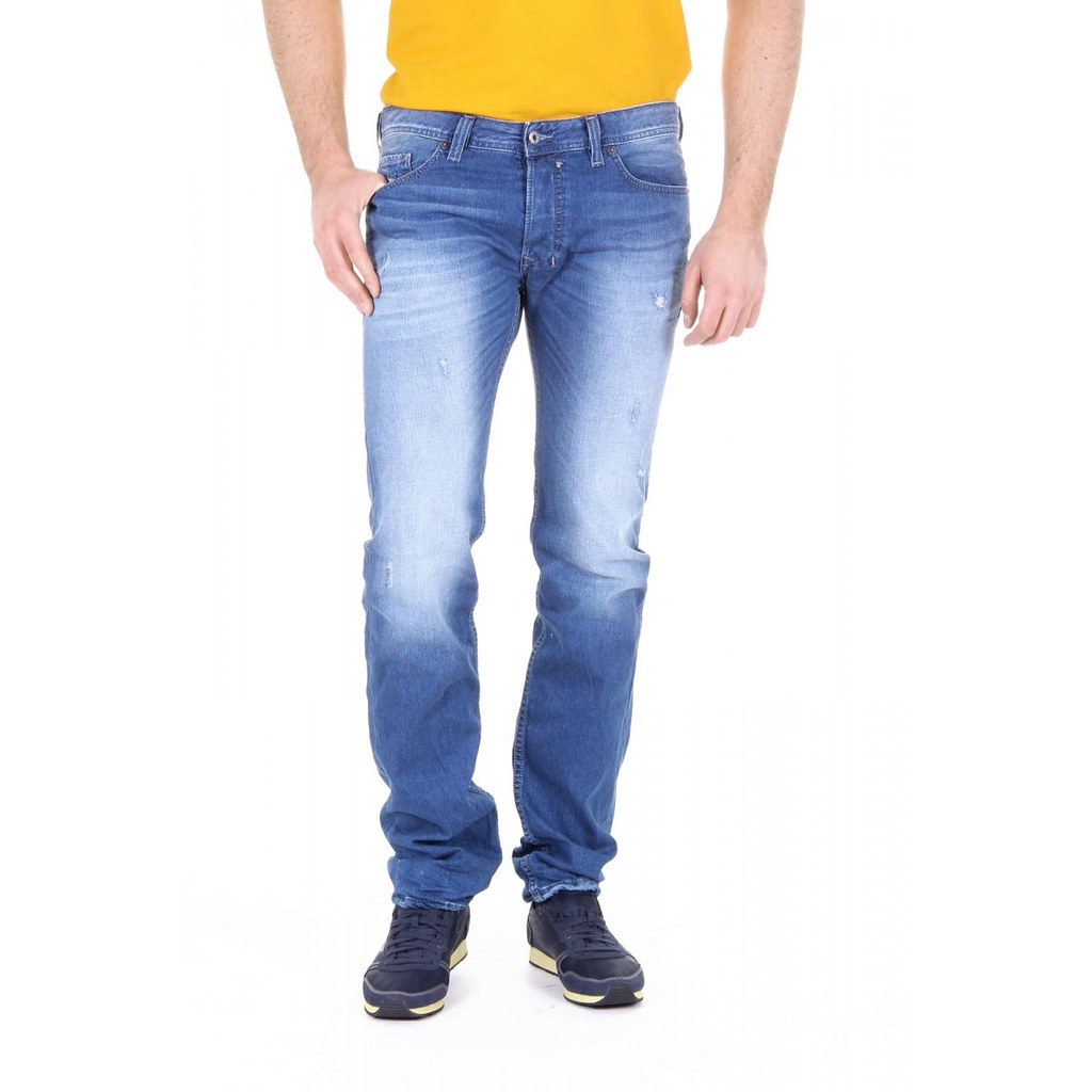 Diesel Mens Safado 00C03G Jeans Slim Straight 0830W bluee Size 30W32L