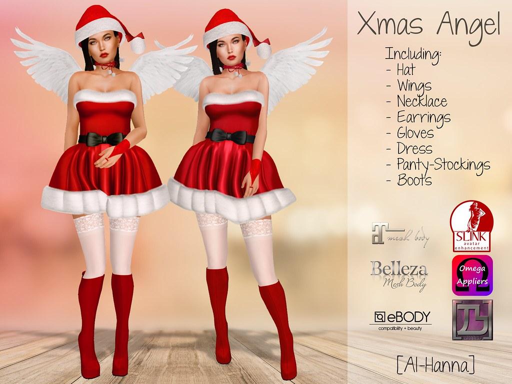 [Al-Hanna] Xmas Angel Outfit