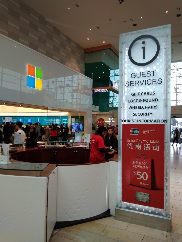 Yorkdale Guest Services