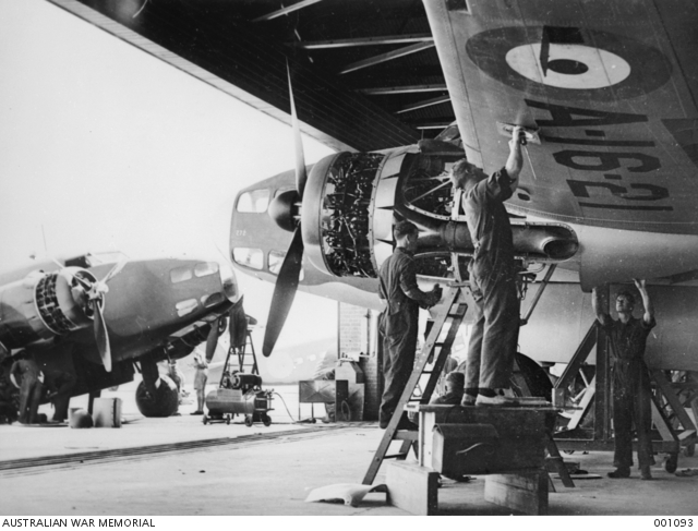 No. 1 Squadron RAAF Lockheed Hudsons at Kota Bharu in 1941