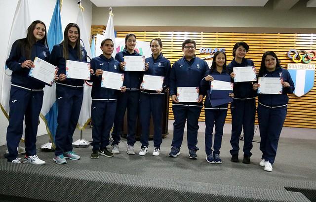 Reconocimiento a la delegación de los YOG Buenos Aires 2018