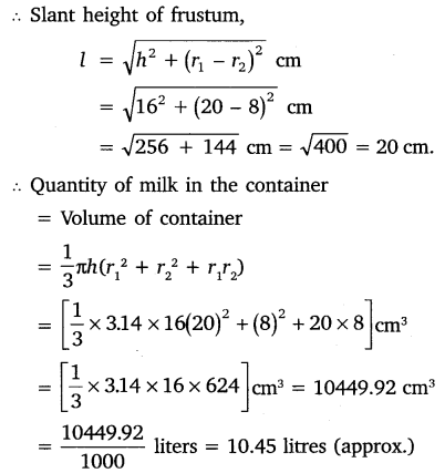 NCERT Solutions for Class 10 Maths Chapter 13 Surface Areas and Volumes 40