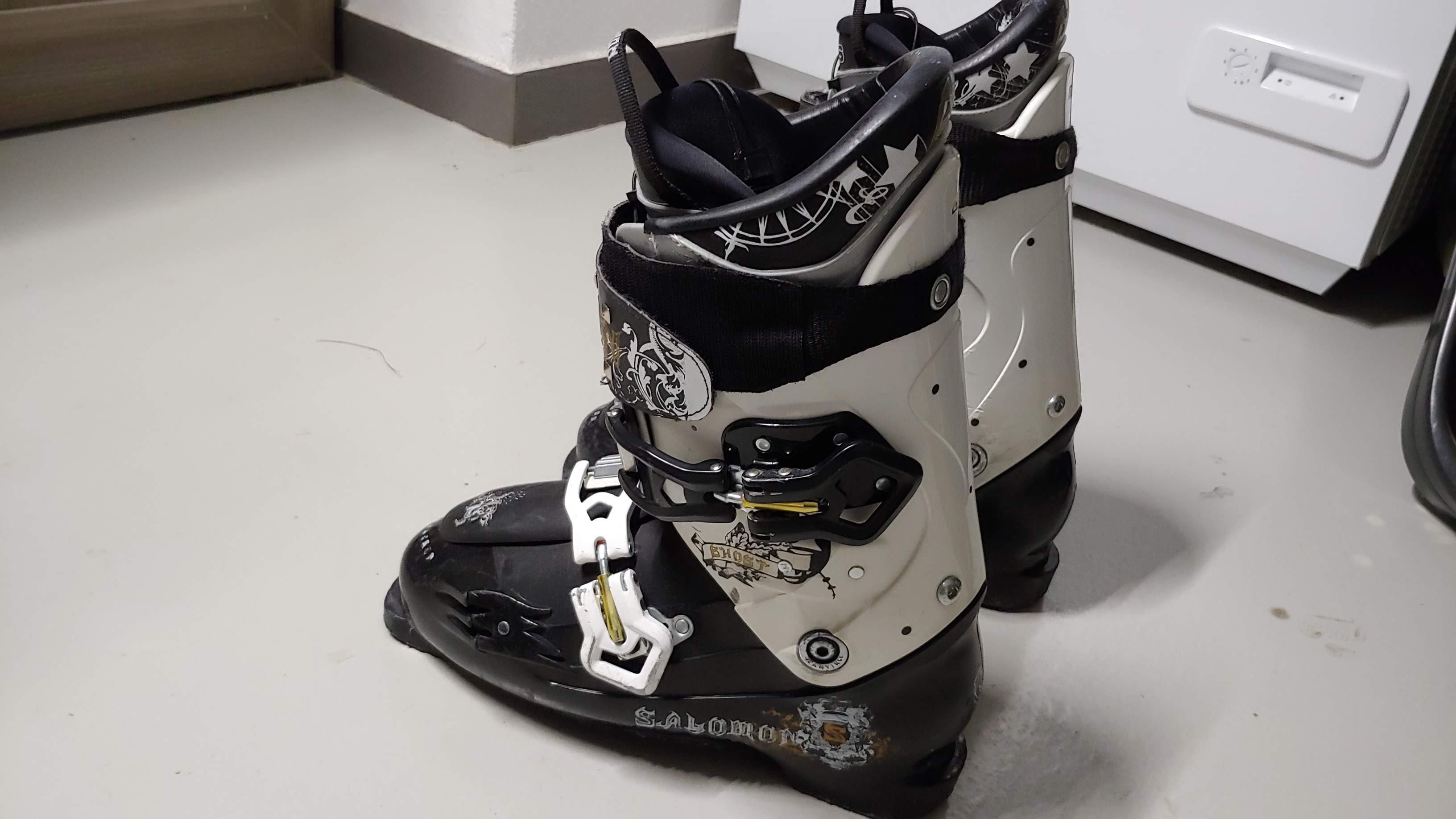 Lyžařské boty Salomon Ghost - Bazar - SNOW.CZ e51e771938a