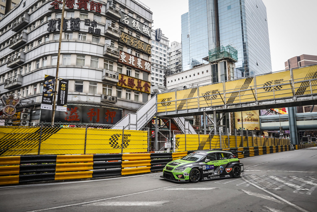 08 NAGY Norbert, (hun), Seat Cupra TCR team Zengo Motorsport, action during the 2018 FIA WTCR World Touring Car cup of Macau, Circuito da Guia, from november  15 to 18 - Photo Francois Flamand / DPPI