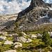 Sawtooth National Recreation Area, Twin Lakes, Peak 9933