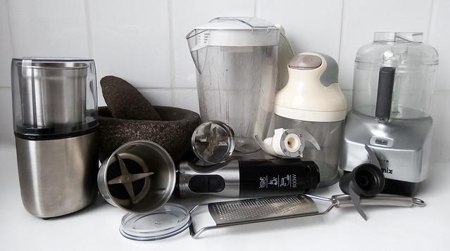 Currypasta malen met welke keukenmachine?