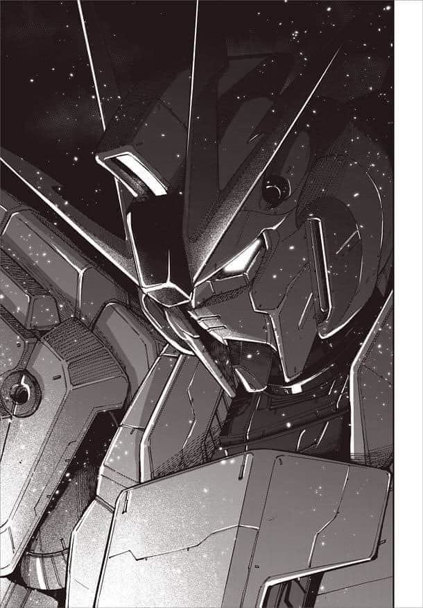 Gundam Manga Narrative Scan