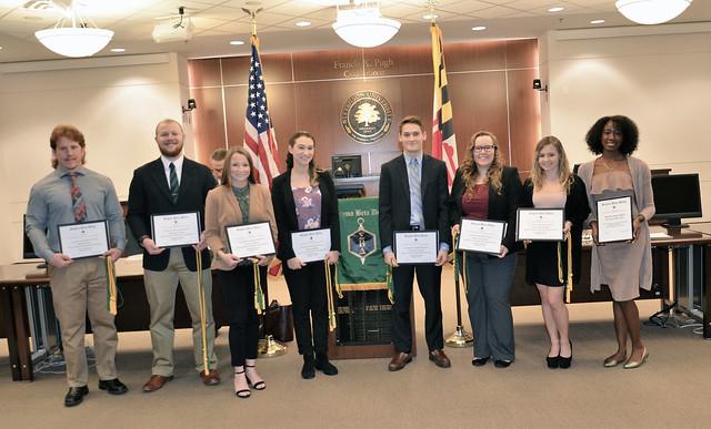 Sigma Beta Delta Honor Society Induction Ceremony