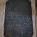 051-20180927_Great Washbourne Church-Gloucestershire-memorial stone in floor beneath Chancel Arch