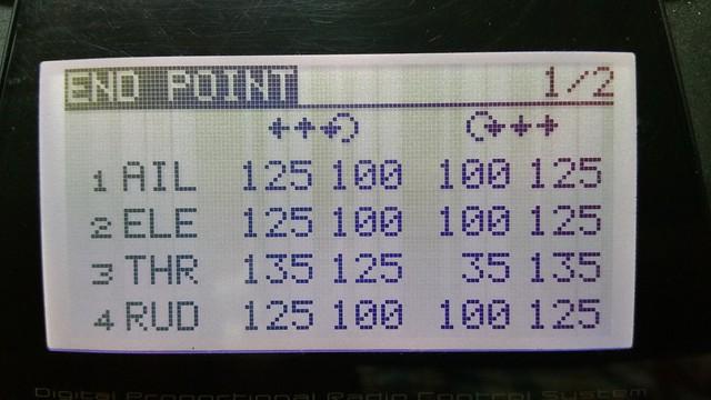 P125 Gyro - End points