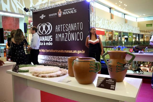 18.12.18 Prefeitura lança coleção de artesanato no Manauara Shopping