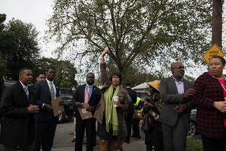 October 16, 2018 Mayor Bowser Visits Local Businesses During Community Walk in Ward 7