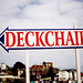 To the deckchairs