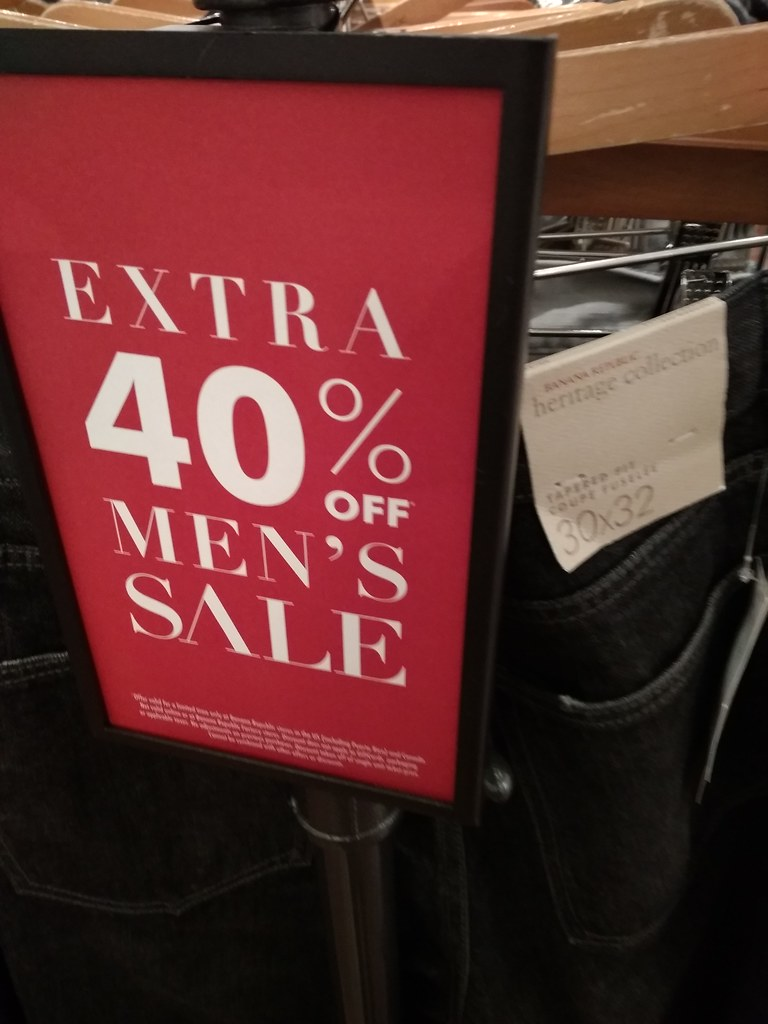 Banana Republic 40% OFF