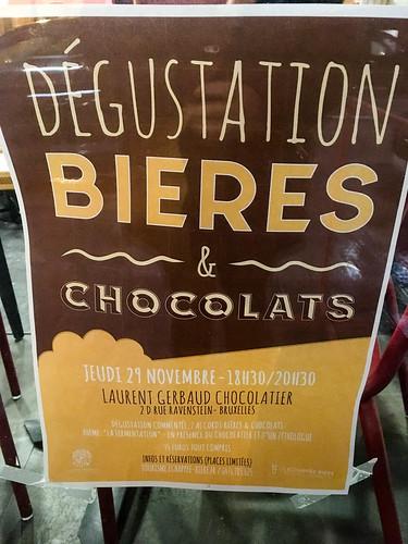 Degustación de cervezas y chocolates