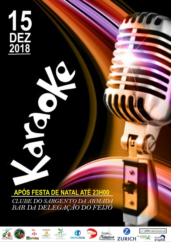 Cartaz Karaoke