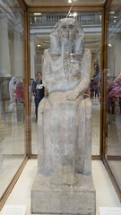 Ancient Egyptian King Djoser at Egyptian Museum of Cairo تمثال الملك زوسر فى المتحف المصرى