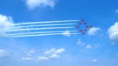 Red Arrows Farnborough 2004