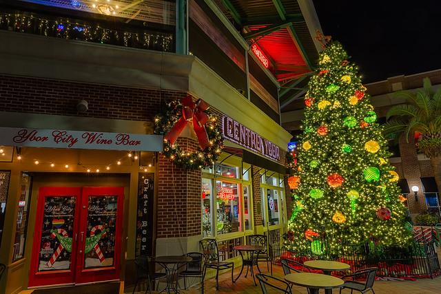 Centro Ybor Christmas Tree