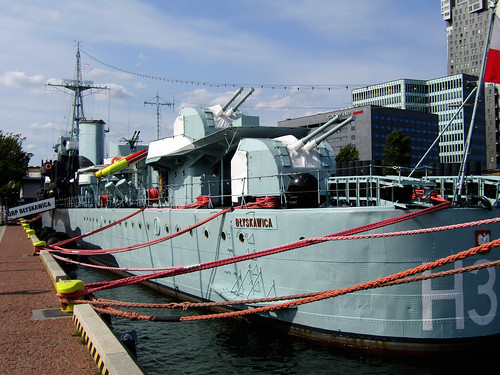 Polish destroyer ORP Błyskawica