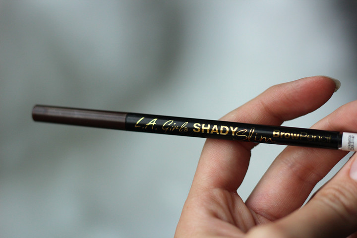 LA Girl Shady Slim Brow Pencil in Medium Brown