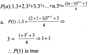 Plus One Maths Model Question Papers Paper 3A9