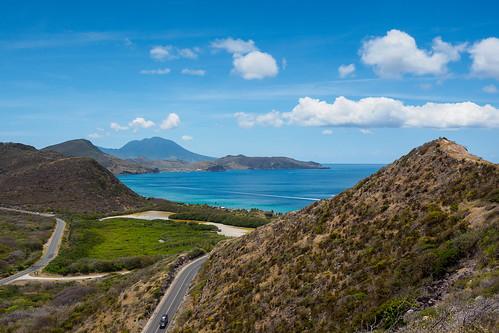 stkitts caribbean sea karibik ocean landscape