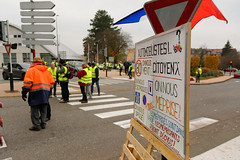 Mouvement des gilets jaunes, Belfort, 17 Nov 2018