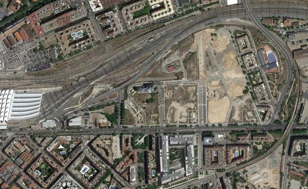 méndez álvaro, madrid, la última frontera de la gentrificación, después, urbanismo, planeamiento, urbano, desastre, urbanístico, construcción, rotondas, carretera
