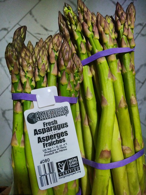 Fresh Asparagus $1 each bundle