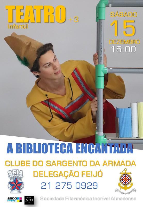 cartaz Biblioteca