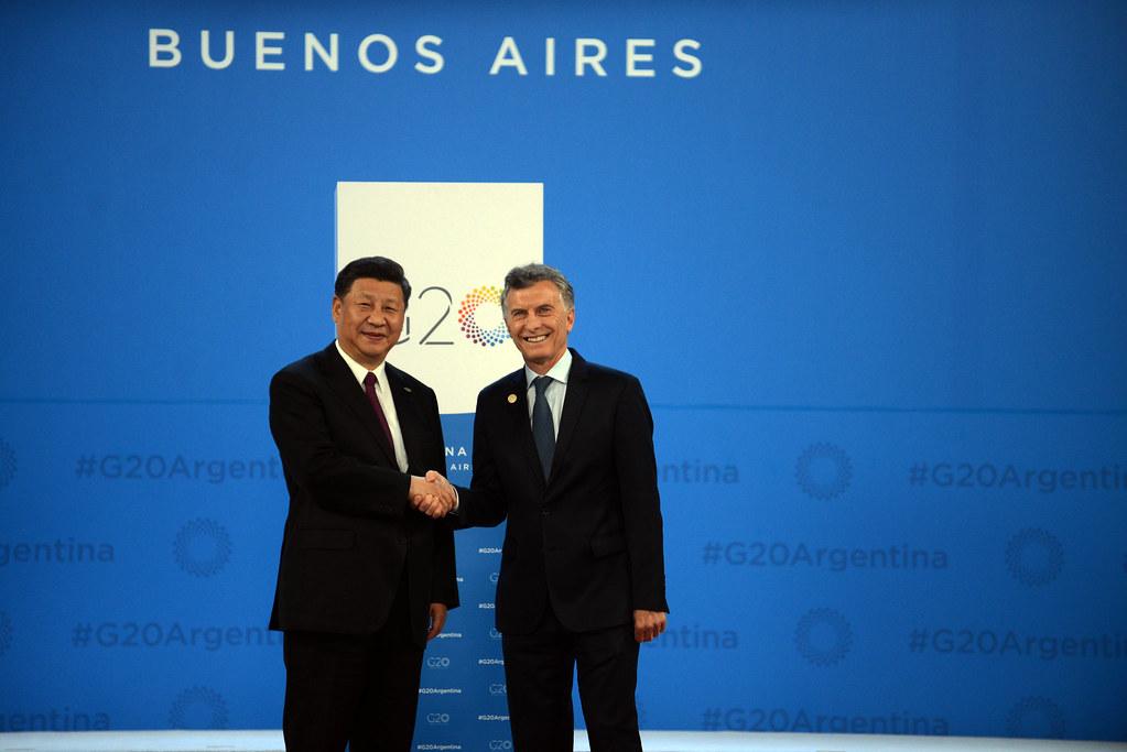 Bienvenida Oficial - Presidente de China, Xi Jinping