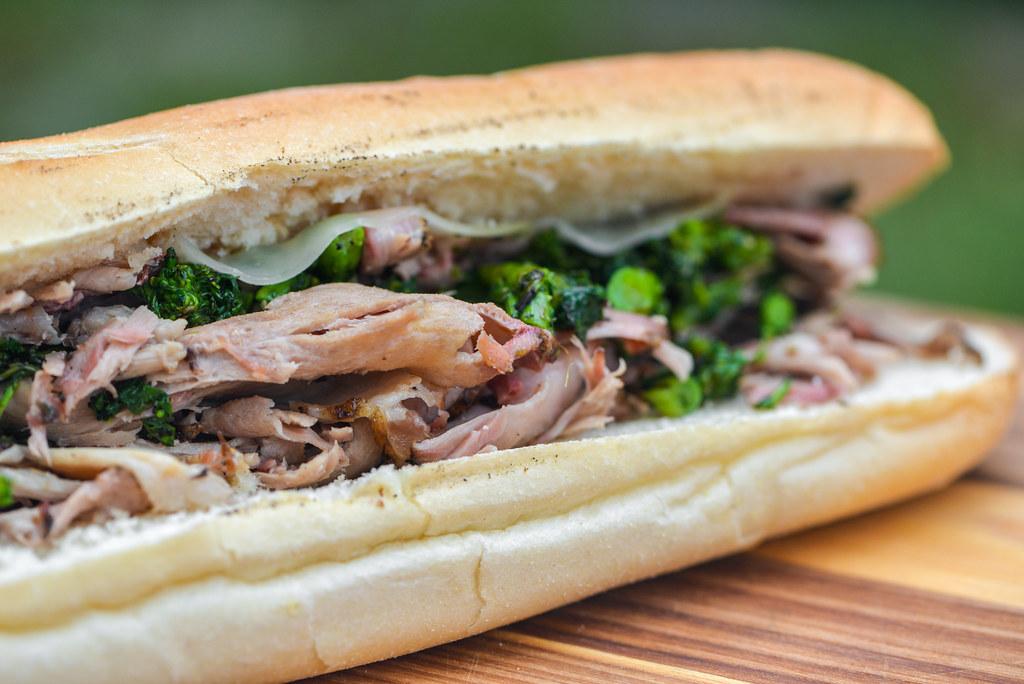 Philadelphia Roast Pork Sandwiches