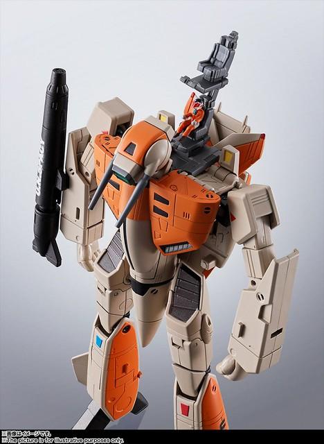 最初的感動!HI-METAL R 《超時空要塞》VF-1D 武神機!バルキリー