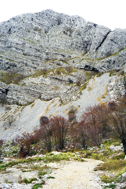 Пейзаж с вершиной Каменски Кабао