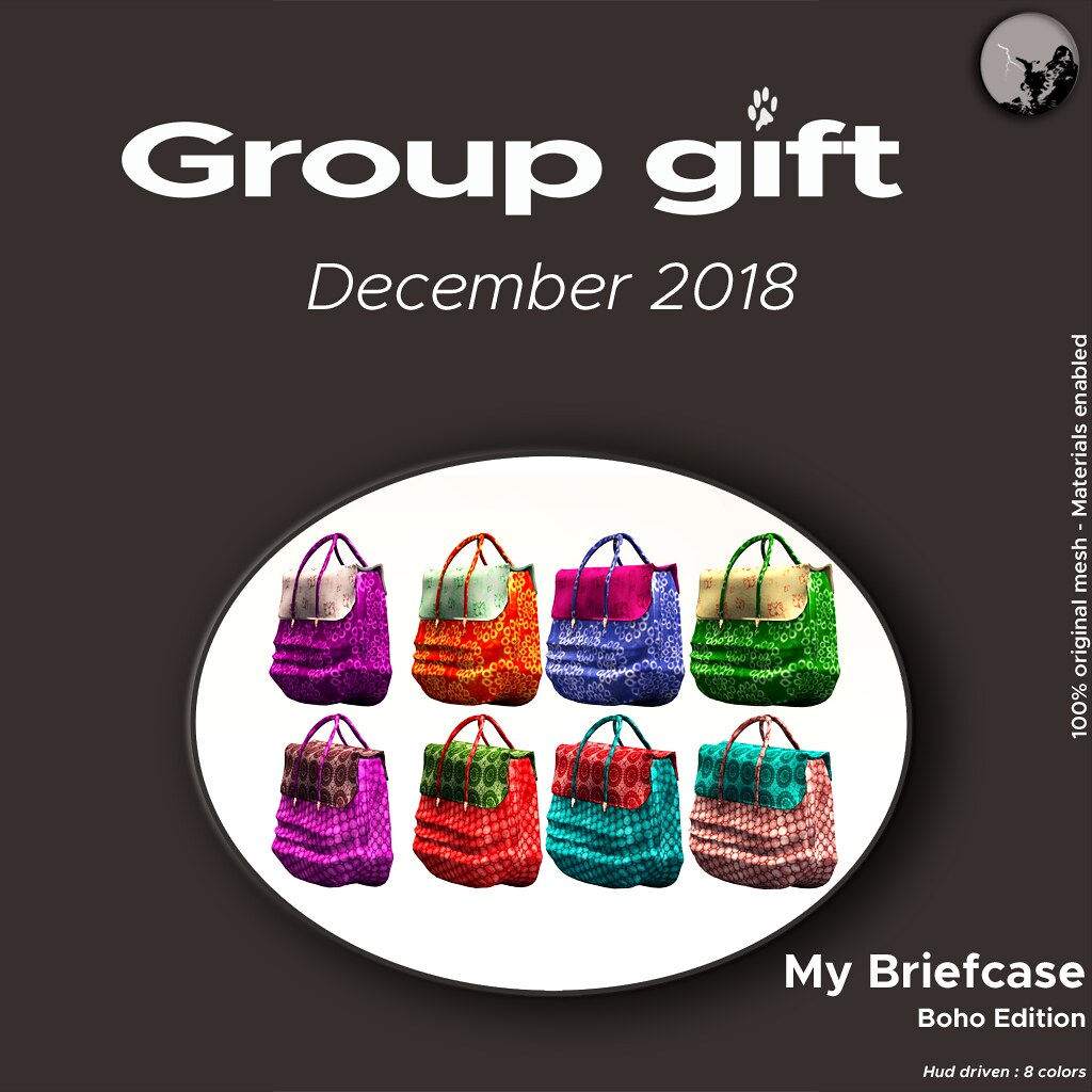 Petit Chat – December Groupgift : My Boho Biefcases
