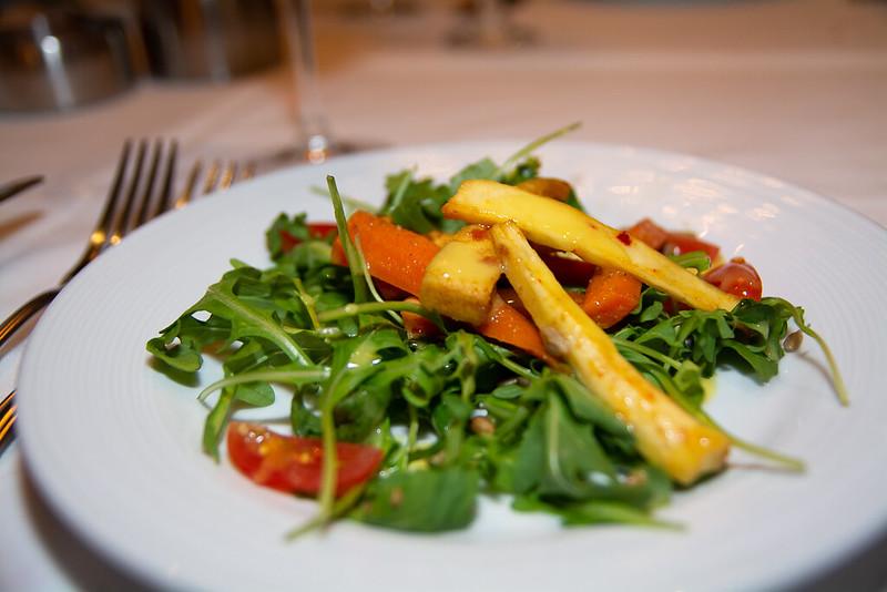 Roasted Carrot Cumin Salad