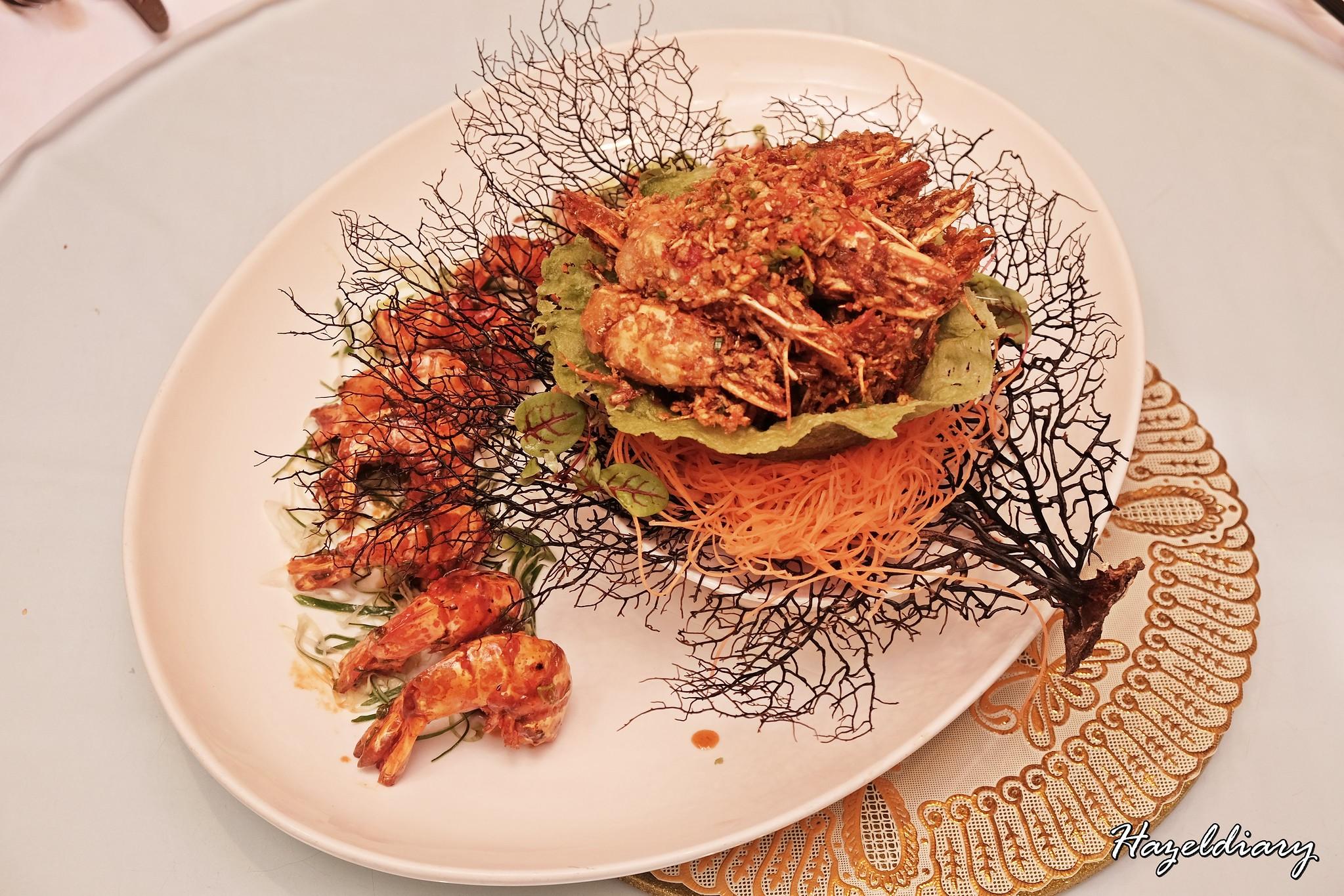 Crystal Jade Restaurant-CNY 2019-Prawns