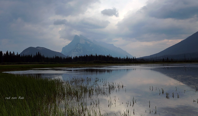 Mount Rundle from Vermillion Lakes, Banff, Canada