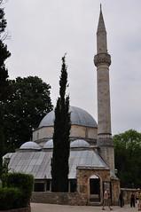 Mosquée de Karađoz Bey, 1557-1558,  Braće Fejića, Mostar, Herzégovine-Neretva, Bosnie-Herzégovine.