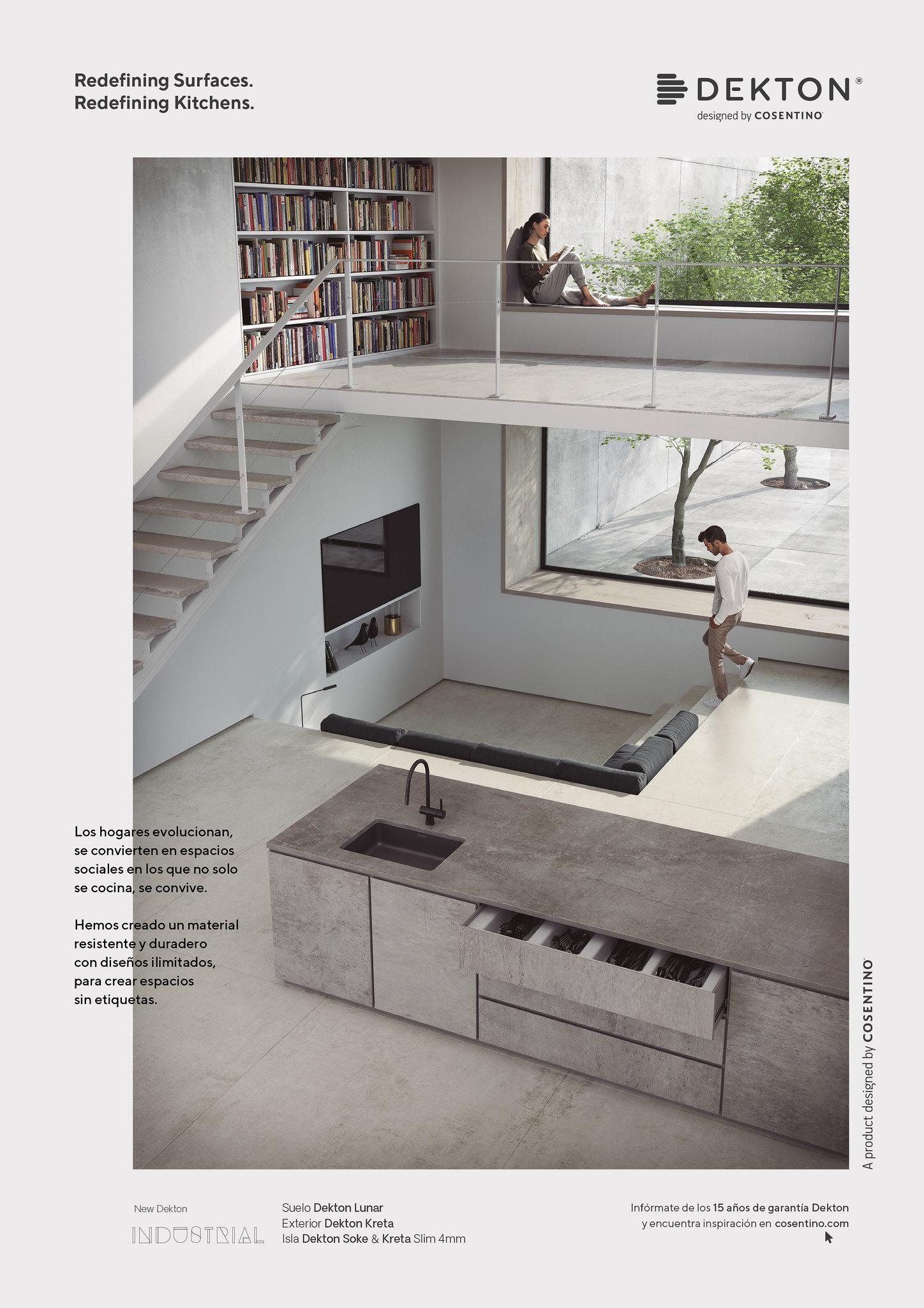 Dekton kitchen Minimal Page