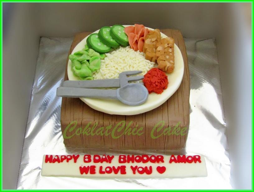 Cake Nasi Tempe AMOR 15 cm