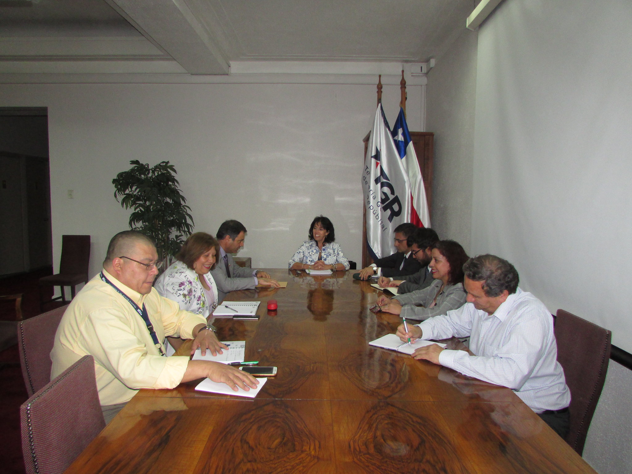 Reunión de Directorio Nacional AET con Tesorera General, Ximena Hernández – 22 Noviembre 2018