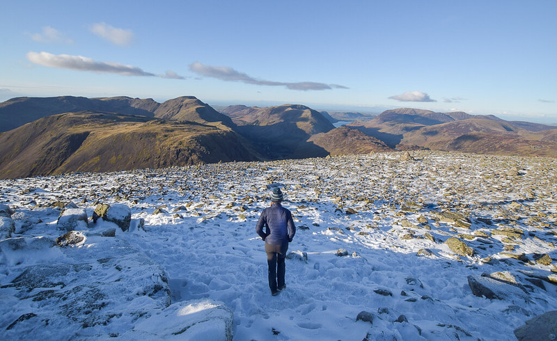 Borrowdale Hikes - Great Gable, Lake District