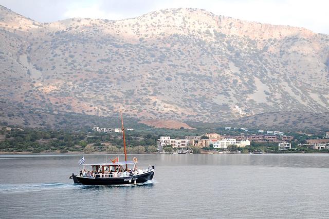 Mirabello Bay boat cruise