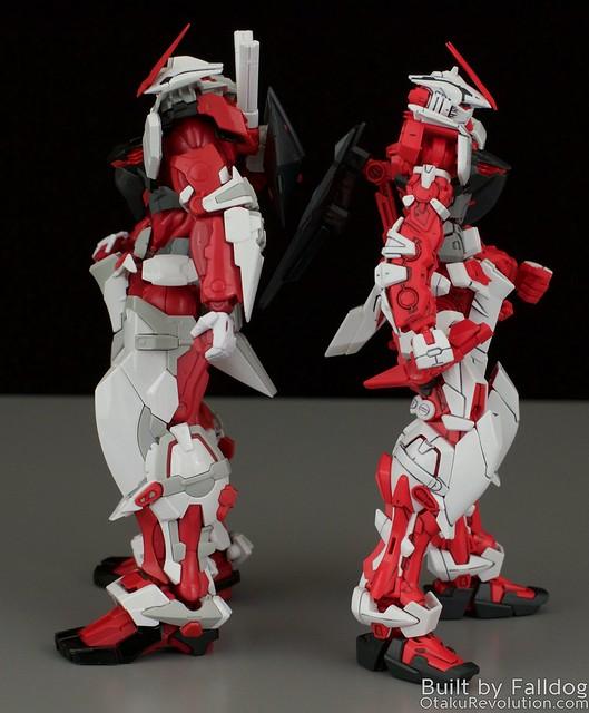 HiRM Astray Red Frame Gundam 16