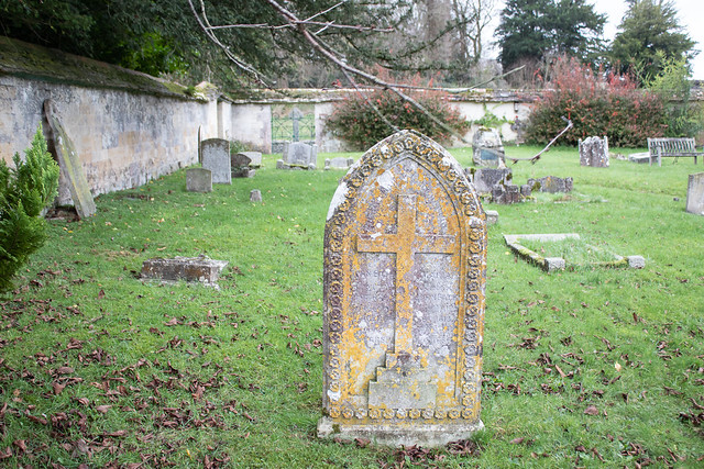 John & Maria Bath headstone, Iwerne Courtney